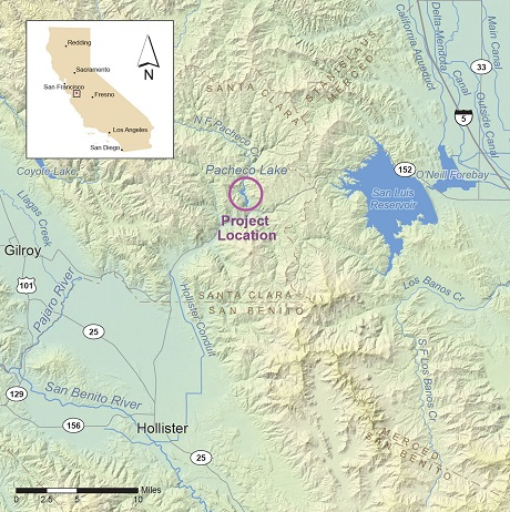 Pacheco California Map.Pacheco Reservoir Expansion Project